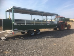 Tractor Drawn (TDM) Access Trailer